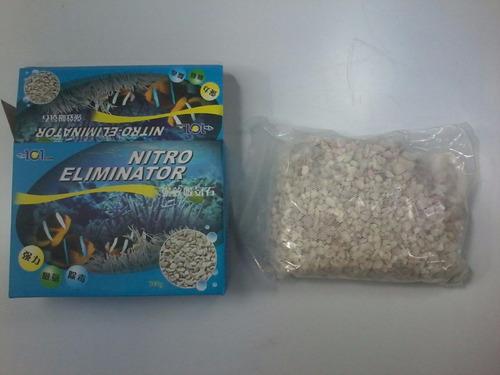 aqua pró zeolite 700 grs para filtros aquario