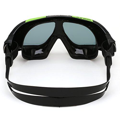 aqua sphere sello 2.0 gafas con el humo de la lente, negro/v