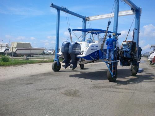 aquaboats marine 42 pies con dos yamaha 350 hp año 2011