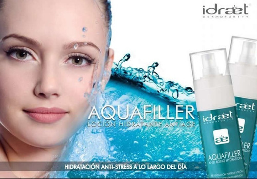 aquafiller locion antiage hidratante idraet