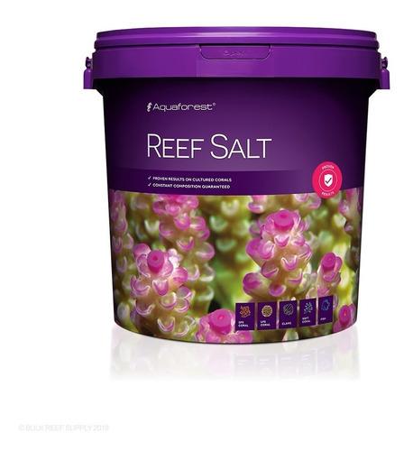 aquaforest sal reef salt 22kg para coral sps lps soft peixes