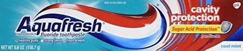 aquafresh cavity protection tube cool mint,