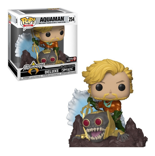 aquaman deluxe jim lee collection pop! funko gamestop only
