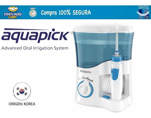 aquapick duchador bucal dental origen korea - blanqueamiento