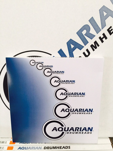 aquarian parche p/bateria force ten 16         envio gratis!