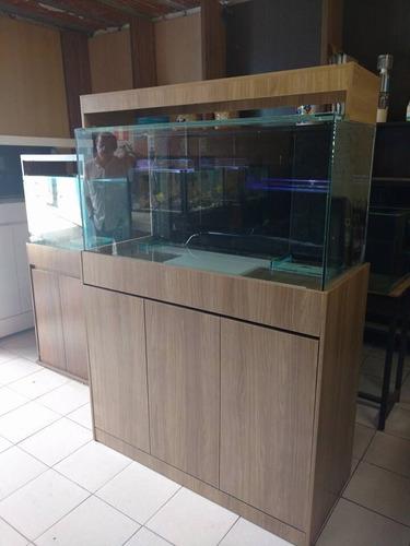 aquario 120x50x70 marinho
