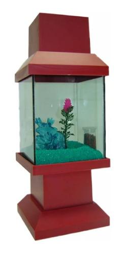aquário beteira japoneza abajour decorada várias cores