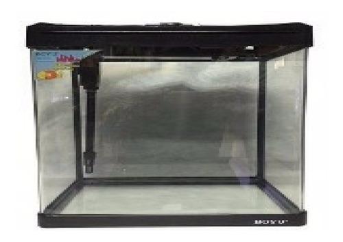 aquário curvo boyu ec-600 66l água doce serve para camarões
