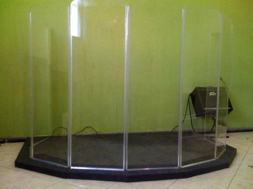 aquário de bateria (isolador acústico)