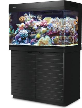 aquário marinho red sea max 250 l completo s / móvel - 110v