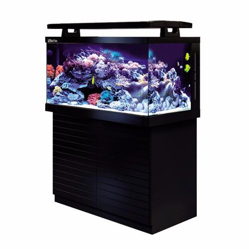 aquário marinho red sea max s650 l completo c/ móvel - 110v