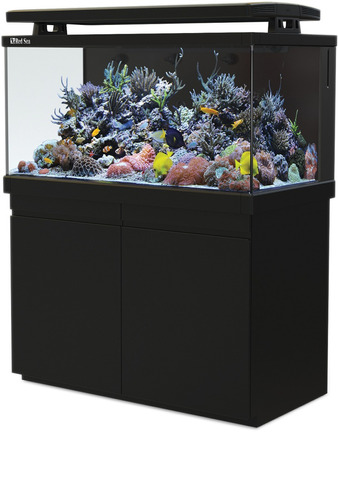 aquário max s-500 red sea reef system preto 110v com movel