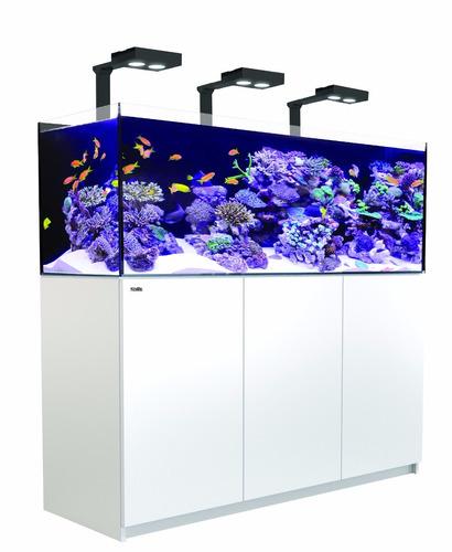 aquario red sea reefer xl525 deluxe branco com 3 hydra 26hd