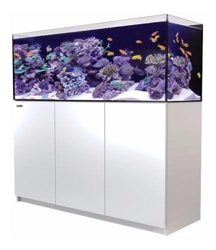 aquário reefer 450 white red sea reef system c/ movel