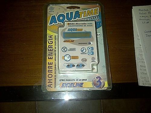 aquatime reloj para calentadores de agua 110vac exceline