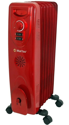 aquecedor a óleo 1500 w 3 ajustes martau