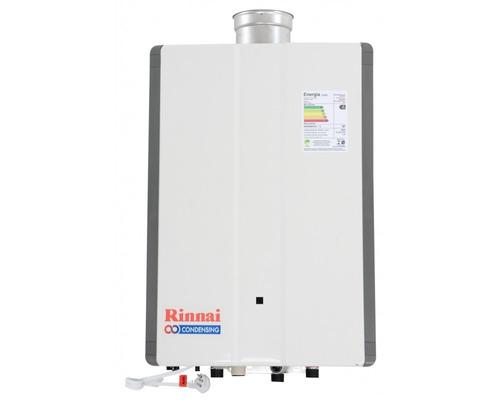 aquecedor de água á gás 42,5 litros rinnai reu-km 3237 ffude