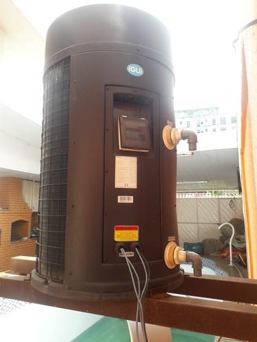 aquecedor de piscinas thermas kelvin igui de 42.600 btu/h.