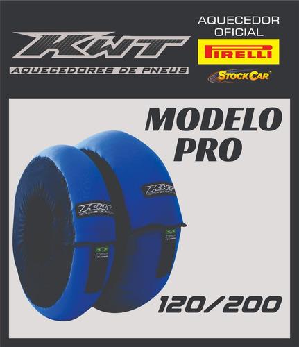 aquecedor de pneus pro kwt - cobertor de pneus kwt 120/200