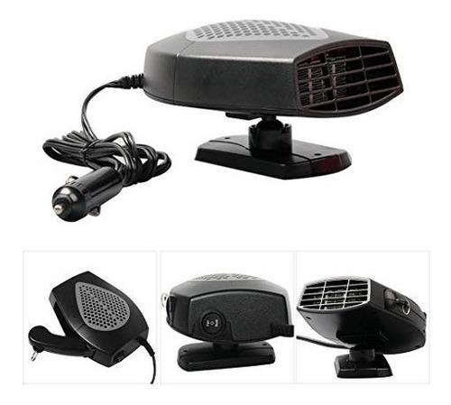 aquecedor e ventilador de ar automotivo carro 12v 150w