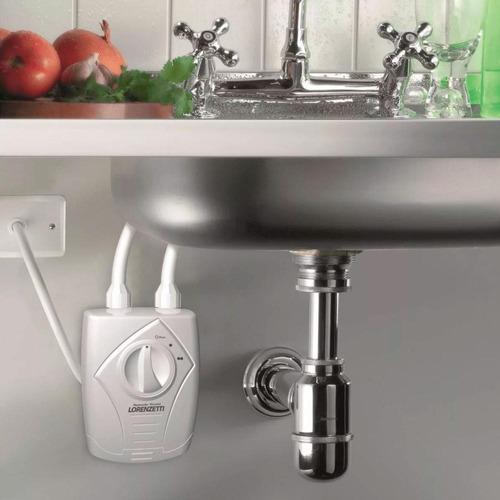 aquecedor elétrico de água versátil lorenzetti 5500w 110v