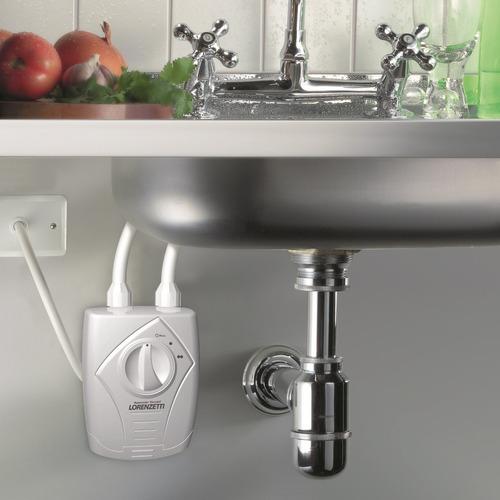 aquecedor elétrico p/ torneira ou misturador mesa lorenzetti