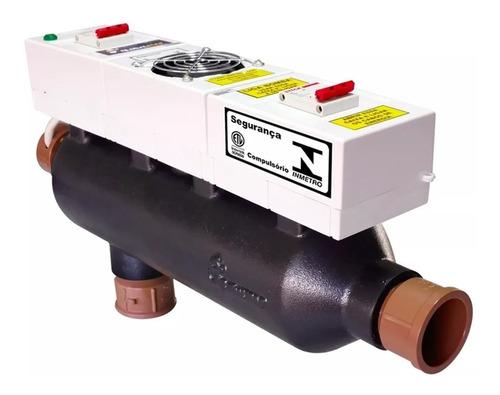 aquecedor elétrico para piscinas até 80 mil litros global 80