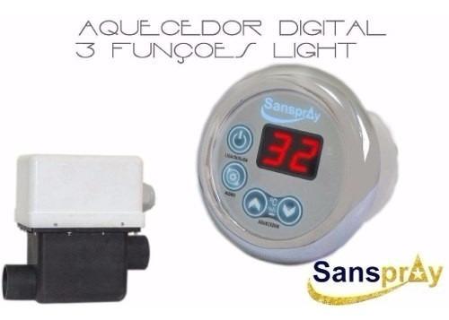 aquecedor p/ hidromassagem sanspray 4700 - pronta entrega