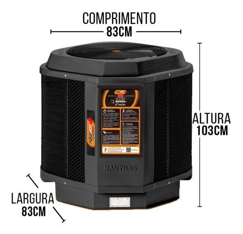 aquecedor p/ piscina trocador de calor aquahot aa85 mono
