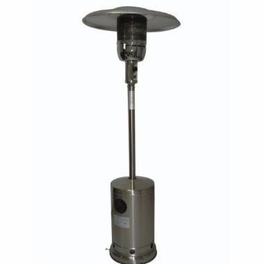 aquecedor pátio ambiente externo ou interno á gás chapéu