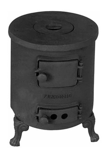 aquecedor redondo de ferro