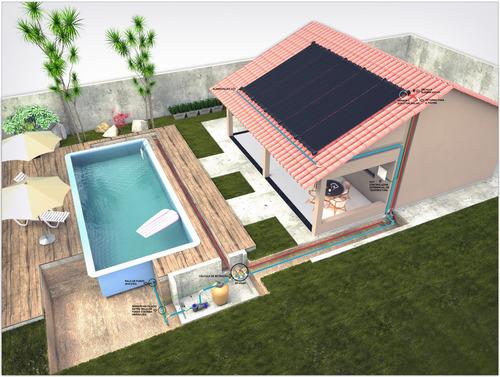 aquecedor solar banho & piscina - soria aqueça seu lar