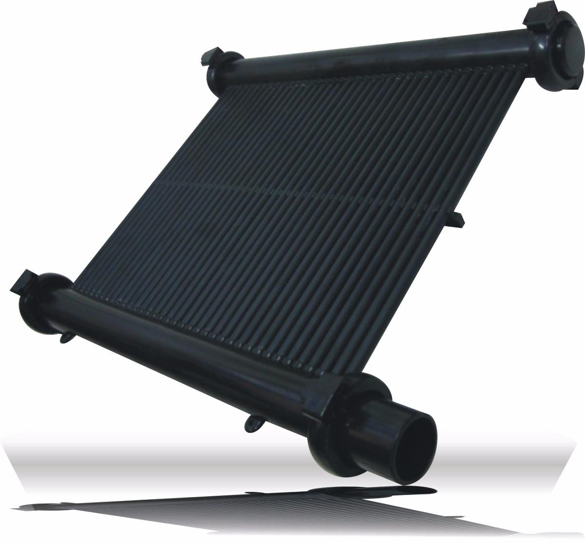 Aquecedor solar p piscina veico 18m placa 3m x 0 50m for Piscina 6 x 3