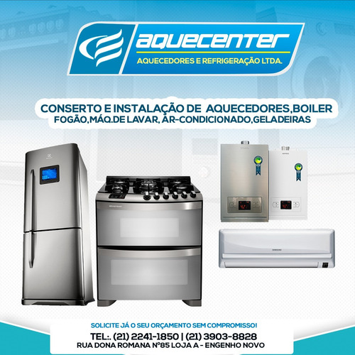 aquecenter aquecedores & refrigeração ltda.