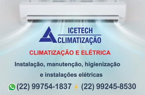 ar condicionado icetech climatização e elétrica