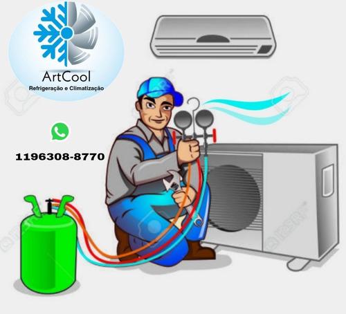 ar condicionado ,instalação, manutenção e serviços