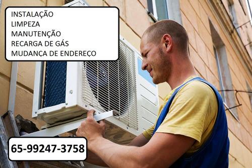 ar condicionado, instalação, manutenção, recarga de gás