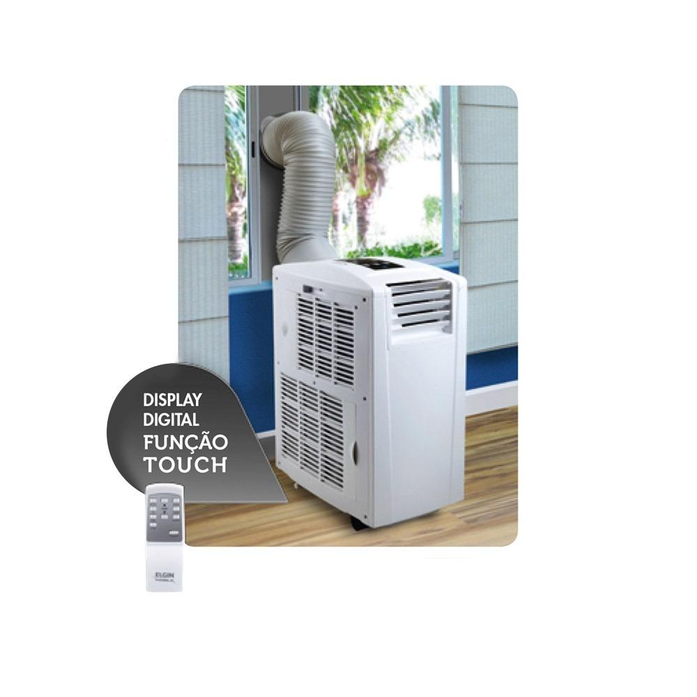 ab808e9fd Ar Condicionado Portatil 9000 Btus Quente E Frio Elgin 127v - R  1.299