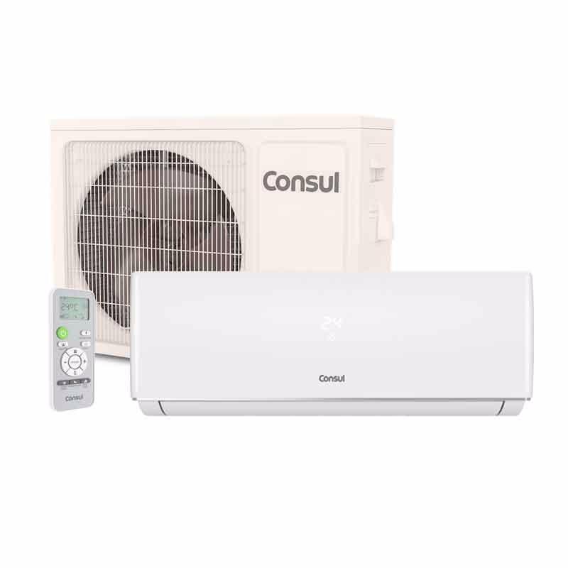 09ebd01bf ar condicionado split consul 9000 btus quente frio 220v c nf. Carregando  zoom.
