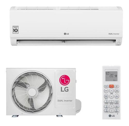 ar condicionado split hw lg dual inverter 9.000 btus só frio