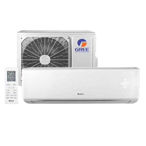 ar condicionado split on/off eco garden gree 9000btus 220v f