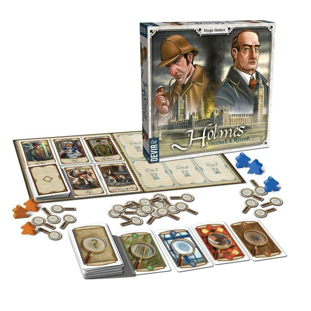 Resultado de imagem para jogo Holmes - Sherlock & Mycroft