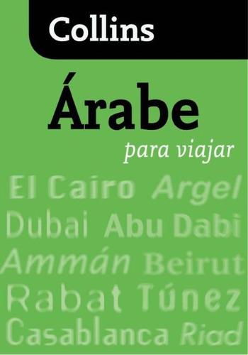 árabe para viajar(libro diccionarios)