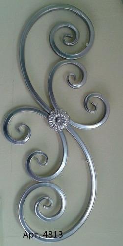 arabescos en hierro forjado