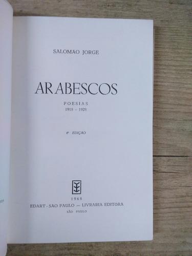 arabescos  salomao jorge