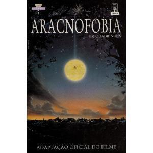 aracnofobia - adaptação oficial do filme - ed. abril 1991