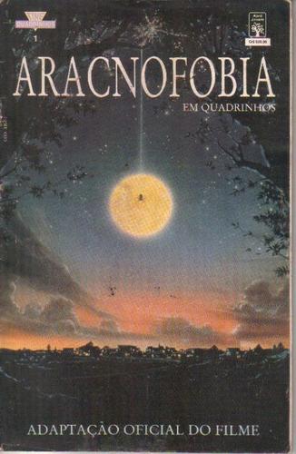 aracnofobia quadrinhos - adaptação oficial do filme de 1991