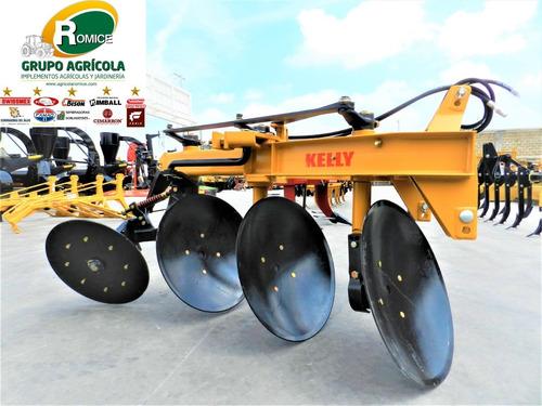 arado agricola 3 discos hidraulico marca kelly p tractor