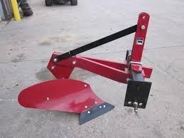 arado de una reja para tractor de 3 puntos