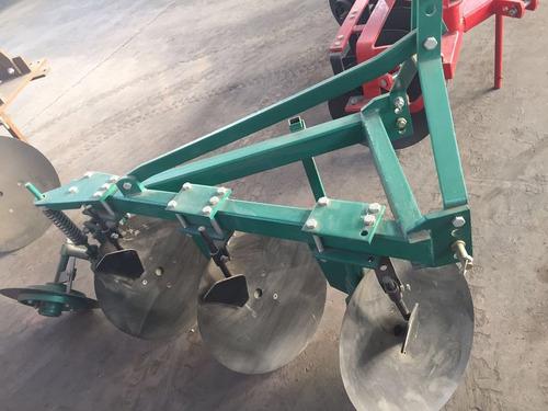 arado discos levante tractor agricola 3x20 pulg tecnodeliv
